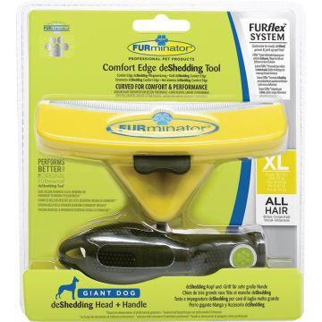 FURflex Hund deShedding combo XL