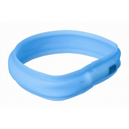 Trixie Flash Leuchtband USB blau M-L 50 cm/30 mm