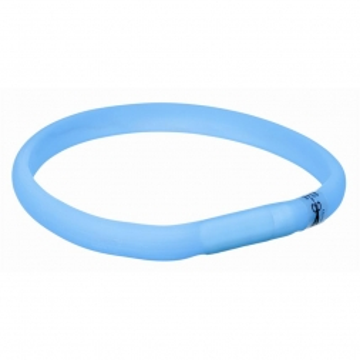 Trixie Flash Leuchtband USB blau XS-S 35 cm/18 mm