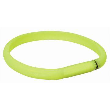 Trixie Flash Leuchtband USB grün L-XL 70 cm/18 mm
