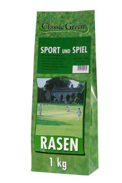 Classic Green Rasen Sport & Spiel 1kg (Menge: 10 je Bestelleinheit)