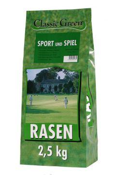 Classic Green Rasen Sport & Spiel Plastikbeutel 2,5kg (Menge: 4 je Bestelleinheit)