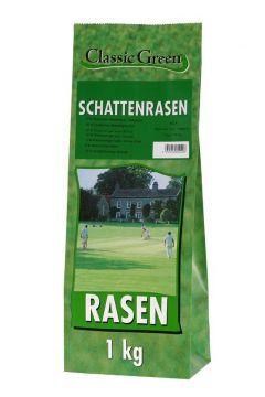 Classic Green Rasen Schattenrasen Plastikbeutel 1kg (Menge: 10 je Bestelleinheit)