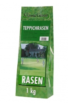 Classic Green Teppichrasen Plastikbeutel 1kg (Menge: 10 je Bestelleinheit)