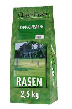 Classic Green Teppichrasen Plastikbeutel 2,5kg (Menge: 4 je Bestelleinheit)