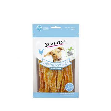 Dokas Dog Hühnerbrust in Streifen   70 g (Menge: 11 je Bestelleinheit)
