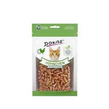 Dokas Cat Hühnchen mit Reis und Sesam 70 g (Menge: 12 je Bestelleinheit)