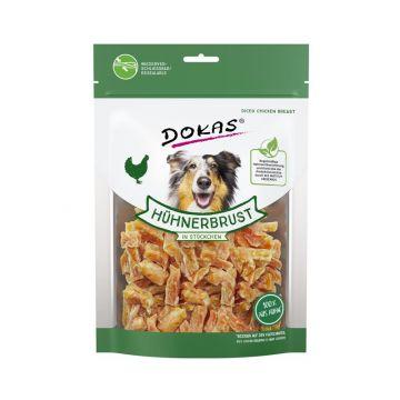 Dokas Dog Hühnerbrust in Stückchen 200 g (Menge: 9 je Bestelleinheit)