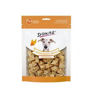 Dokas Hühnerbrust-Würfel,Süsskartoffel, Leinsamen 150 g (Menge: 8 je Bestelleinheit)