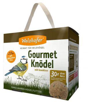 Welzhofer Gourmetknödel mit Insekten 1 x (30x100g) ohne Netz