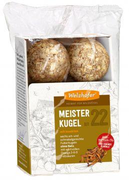 Welzhofer Bird Meisterkugeln No. 22 mit Insekten   (Menge: 12 je Bestelleinheit)