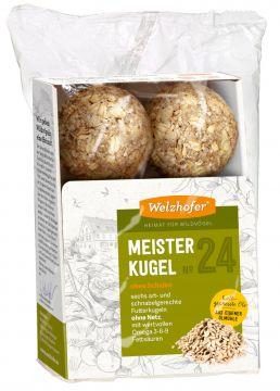 Welzhofer Bird Meisterkugeln No. 24 ohne Schalen   (Menge: 12 je Bestelleinheit)