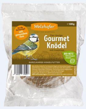 Welzhofer Gourmetknödel Der Riesige mit Insekten 500g in Folie  (Menge: 12 je Bestelleinheit)