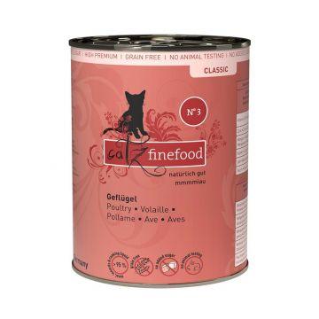 Catz finefood No.  3 Geflügel 400g (Menge: 6 je Bestelleinheit)