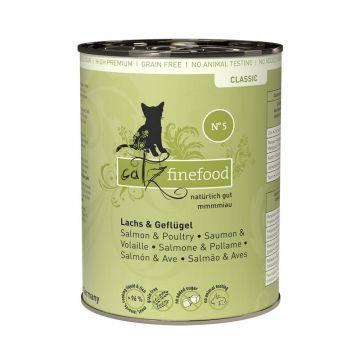 Catz finefood No.  5 Lachs 400g (Menge: 6 je Bestelleinheit)