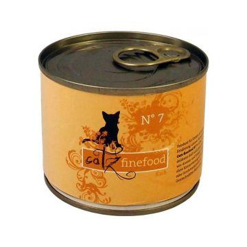 Catz finefood No.  7 Kalb 200g (Menge: 6 je Bestelleinheit)