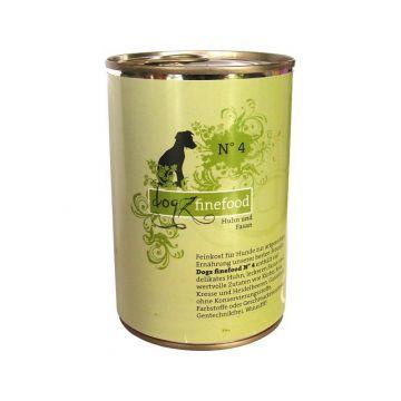 Dogz finefood Dose No.  4 Huhn & Fasan 400g (Menge: 6 je Bestelleinheit)