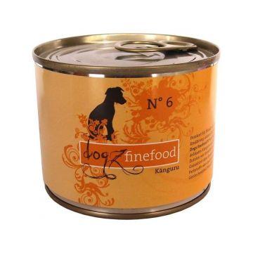 Dogz finefood Dose No.  6 Känguru 200g (Menge: 6 je Bestelleinheit)