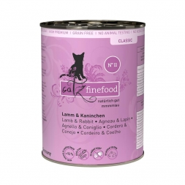 Catz finefood No. 11 Lamm & Kaninchen 400g (Menge: 6 je Bestelleinheit)