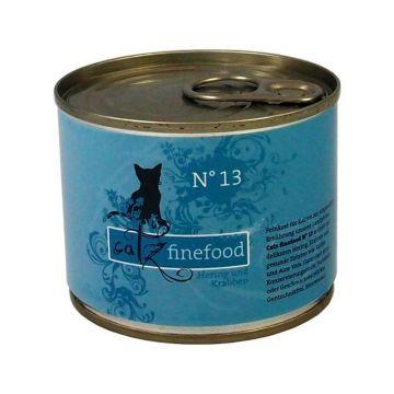 Catz finefood No. 13 Hering & Krabben 200g (Menge: 6 je Bestelleinheit)
