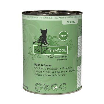 Catz finefood No. 15 Huhn & Fasan 400g (Menge: 6 je Bestelleinheit)