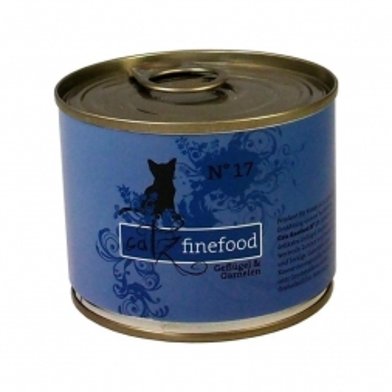 Catz finefood No. 17 Geflügel & Garnele 200g (Menge: 6 je Bestelleinheit)