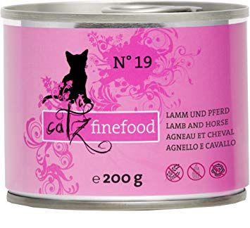 Catz finefood No. 19 Lamm & Büffel 200g (Menge: 6 je Bestelleinheit)
