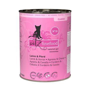 Catz finefood No. 19 Lamm & Büffel 400g (Menge: 6 je Bestelleinheit)