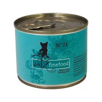Catz finefood No. 21 Wild und Rotbarsch 200g (Menge: 6 je Bestelleinheit)