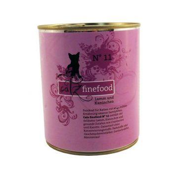 Catz finefood No. 11 Lamm & Kaninchen 800g Dose (Menge: 6 je Bestelleinheit)