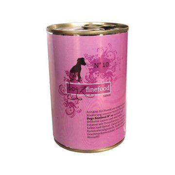 Dogz finefood Dose No. 10 Lamm 400g (Menge: 6 je Bestelleinheit)