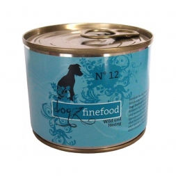 Dogz finefood Dose No. 12 Wild & Hering 200g (Menge: 6 je Bestelleinheit)