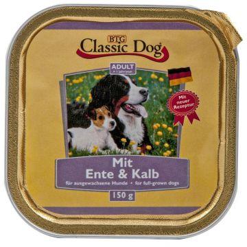 Classic Dog Schale Ente & Kalb 150g (Menge: 20 je Bestelleinheit)