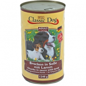 Classic Dog Dose Lamm 1240g (Menge: 6 je Bestelleinheit)