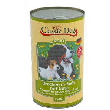 Classic Dog Dose Ente 1240g (Menge: 6 je Bestelleinheit)