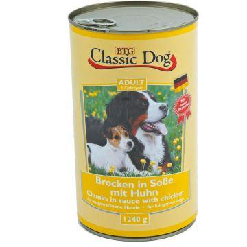 Classic Dog Dose Huhn 1240g (Menge: 6 je Bestelleinheit)