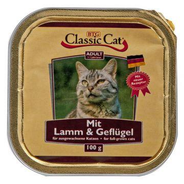 Classic Cat Schale Lamm & Geflügel 100g (Menge: 30 je Bestelleinheit)