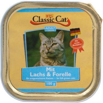 Classic Cat Schale Lachs & Forelle 100g (Menge: 30 je Bestelleinheit)