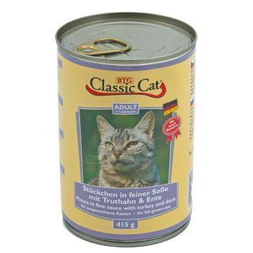 Classic Cat Dose Soße mit Truthahn & Ente 415g (Menge: 12 je Bestelleinheit)