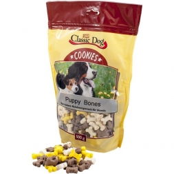 Classic Dog Snack Cookies Puppy Bones 500g