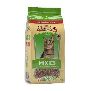 Classic Cat Trockenahrung Mixies mit Geflügel und Rind 4kg