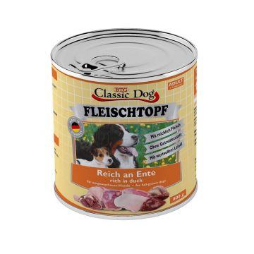 Classic Dog Dose Adult Fleischtopf Pur Reich an Ente 800g (Menge: 6 je Bestelleinheit)