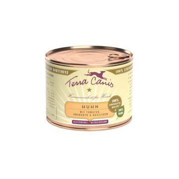 Terra Canis classic Huhn mit Amaranth, Tomaten und Basilikum 200g (Menge: 12 je Bestelleinheit)