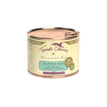 Terra Canis classic Kaninchen mit Zucchini, Amaranth und Bärlauch 200g (Menge: 12 je Bestelleinheit)