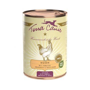 Terra Canis Classic Huhn mit Amaranth, Tomaten und Basilikum 400g (Menge: 12 je Bestelleinheit)