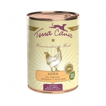 Terra Canis Dose classic Huhn 400 g (Menge: 12 je Bestelleinheit)