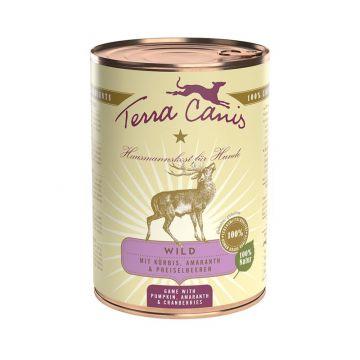 Terra Canis Classic Wild mit Kürbis, Preiselbeeren und Vollkornnudeln 400g (Menge: 12 je Bestelleinheit)