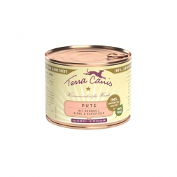 Terra Canis Dose classic Pute & Gemüse 200 g (Menge: 12 je Bestelleinheit)