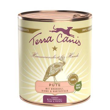 Terra Canis Classic Pute mit Brokkoli, Birne und Kartoffel 800g (Menge: 6 je Bestelleinheit)