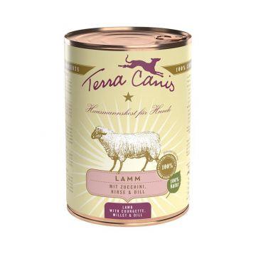 Terra Canis Classic Lamm mit Zucchini, Hirse und Dill 400g (Menge: 12 je Bestelleinheit)